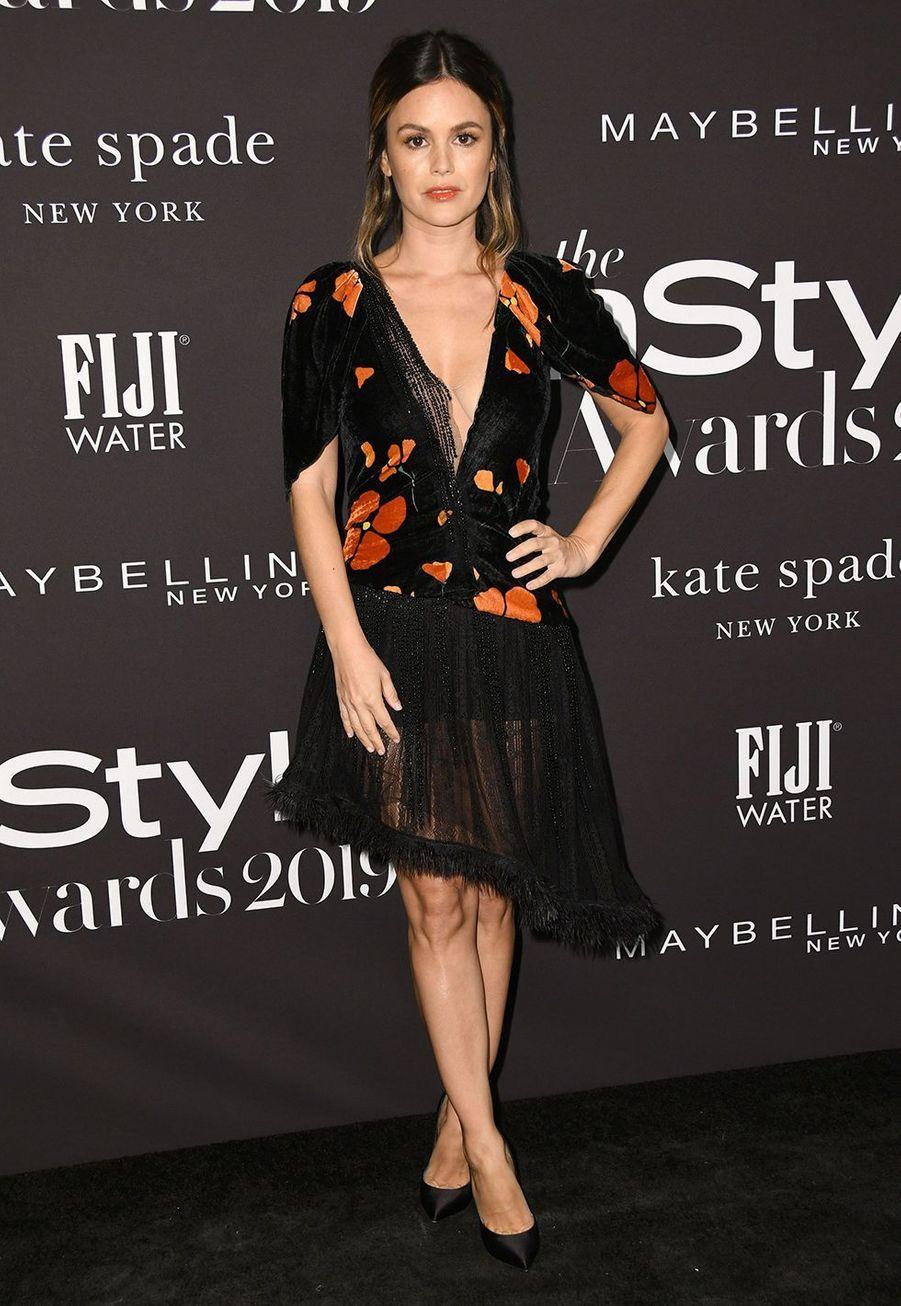 Rachel Bilsonà la soirée InStyle Awards à Los Angeles le 21 octobre 2019