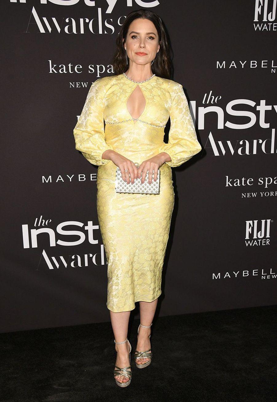 Sophia Bushà la soirée InStyle Awards à Los Angeles le 21 octobre 2019