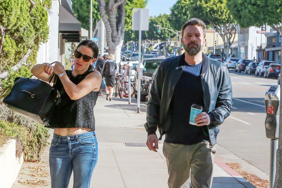 Jennifer Garner et Ben Affleck, à Los Angeles