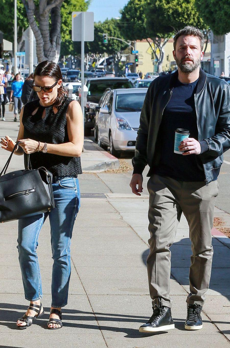 Jennifer Garner et Ben Affleck, en tête à tête à Los Angeles