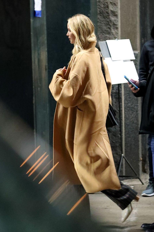 Jennifer Lawrence à New York le 21 février 2019