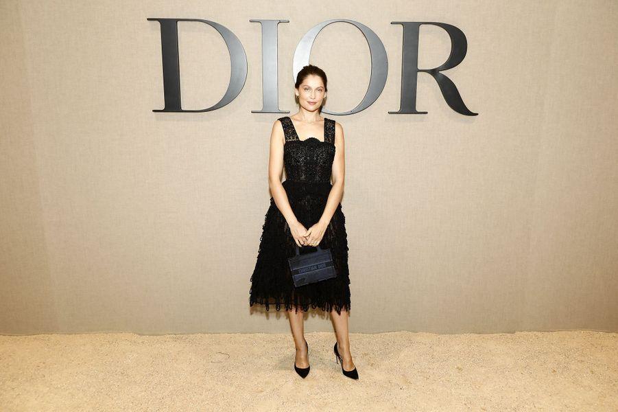 Laetitia Castaà la présentation des collections femme printemps-été 2020 de la maison Dior à Paris le 24 septembre 2019