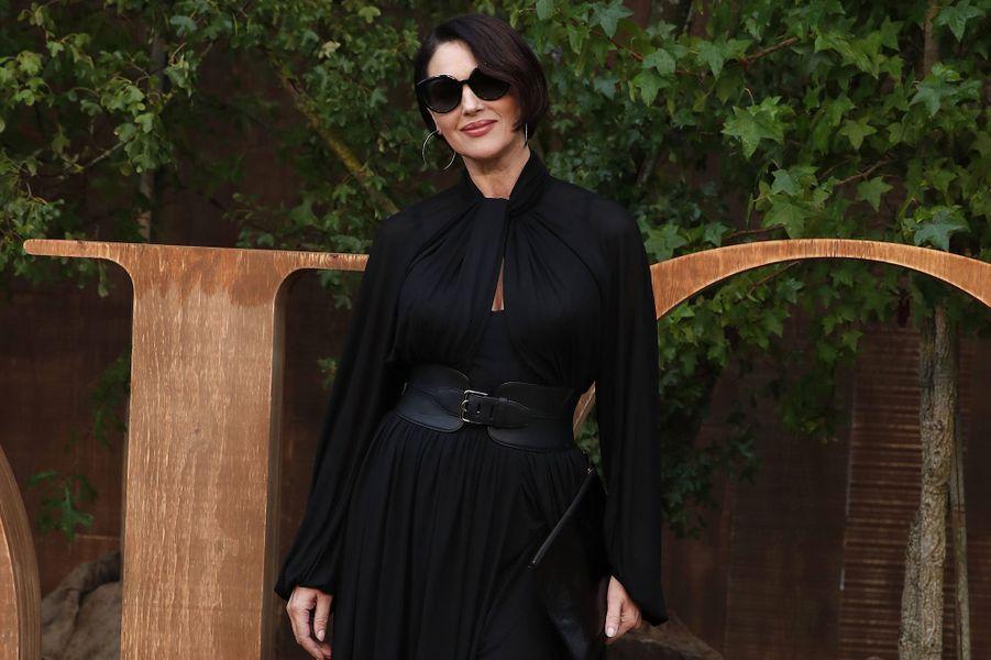Monica Belluccià la présentation des collections femme printemps-été 2020 de la maison Dior à Paris le 24 septembre 2019