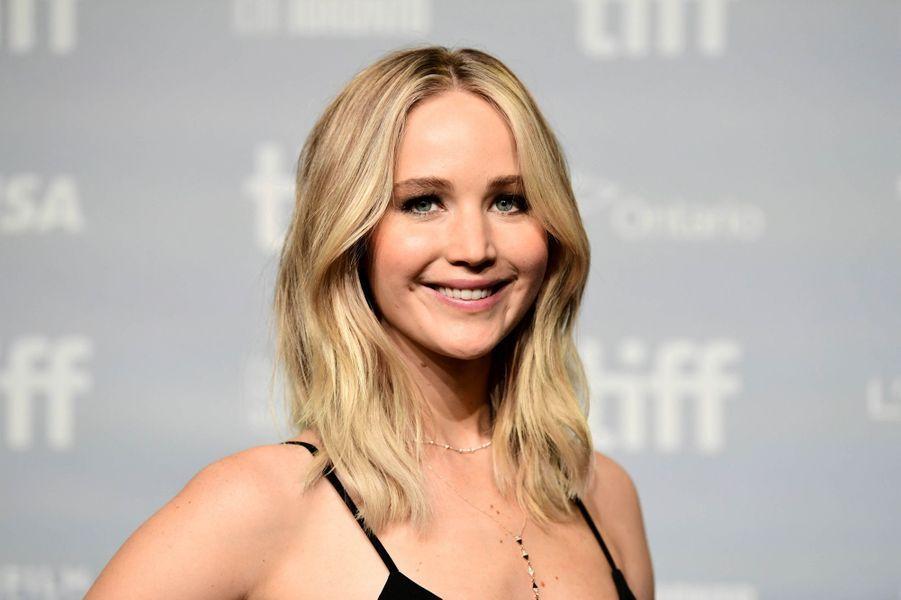 Jennifer Lawrence en 2017 à Toronto.