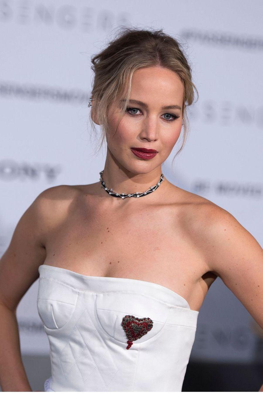 Jennifer Lawrence en 2017 à Westwood.