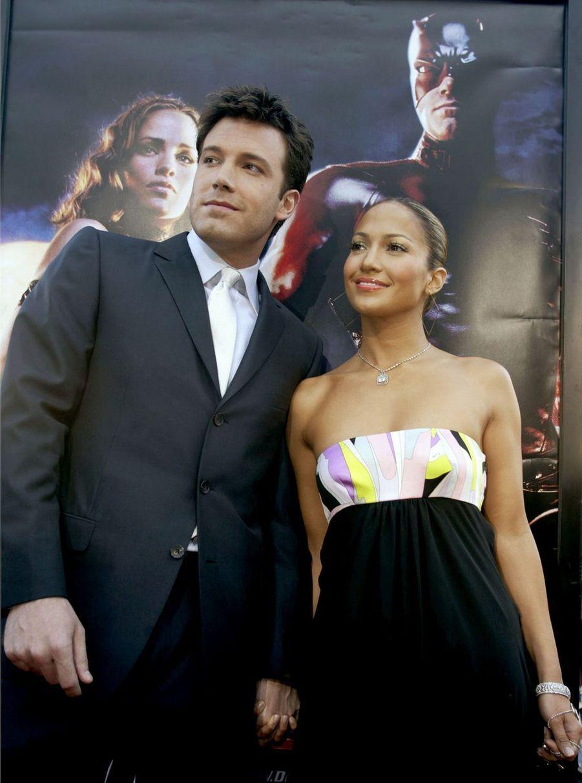Jennifer Lopez en 2003 (avec Ben Affleck)