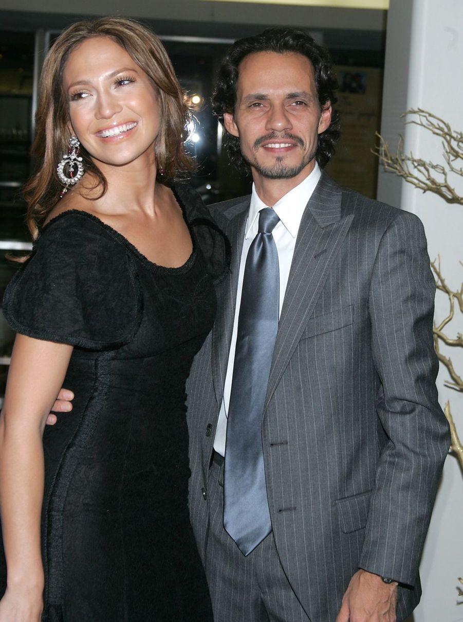 Jennifer Lopez en 2005 (avec Marc Anthony)