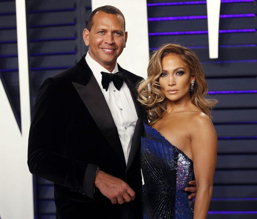 Jennifer Lopez en 2019 (avec Alex Rodriguez)