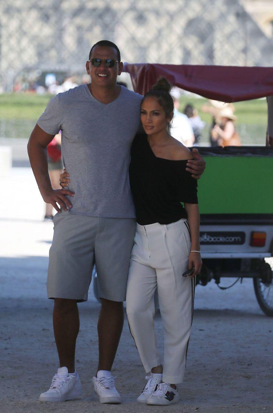 Jennifer Lopez et Alex Rodriguez.