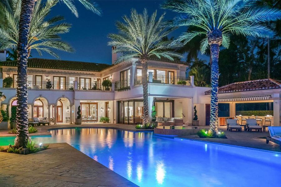 Jennifer Lopez et Alex Rodriguez ont dépensé 40 millions de dollars pour acheter cette villa à Miami