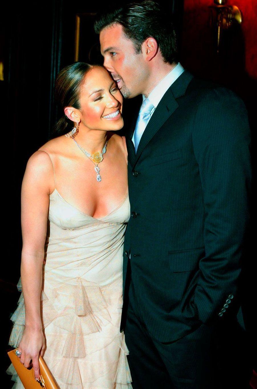 Jennifer Lopez et Ben Affleck (2002)