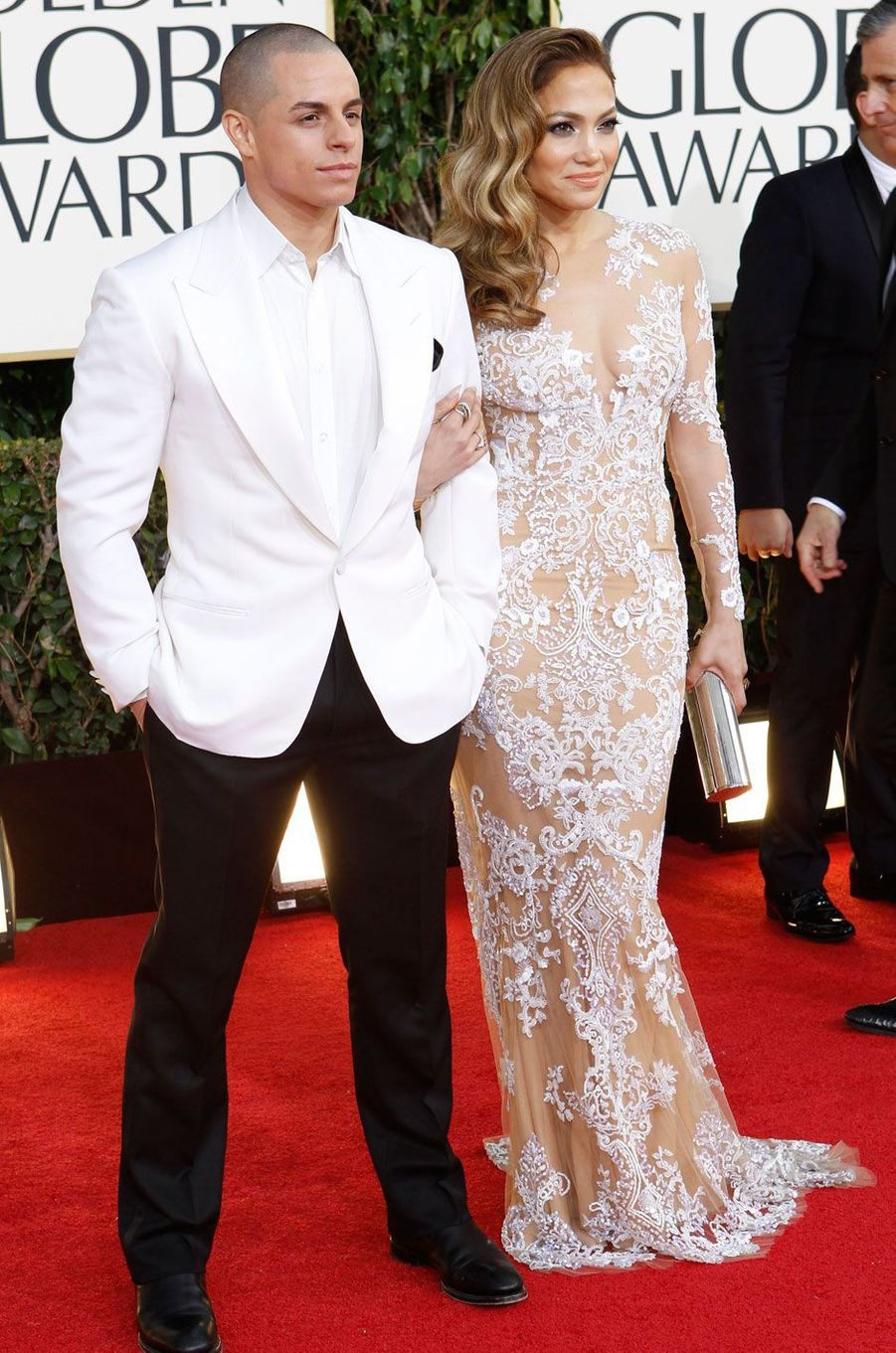 Jennifer Lopez et Casper Smart (2016)