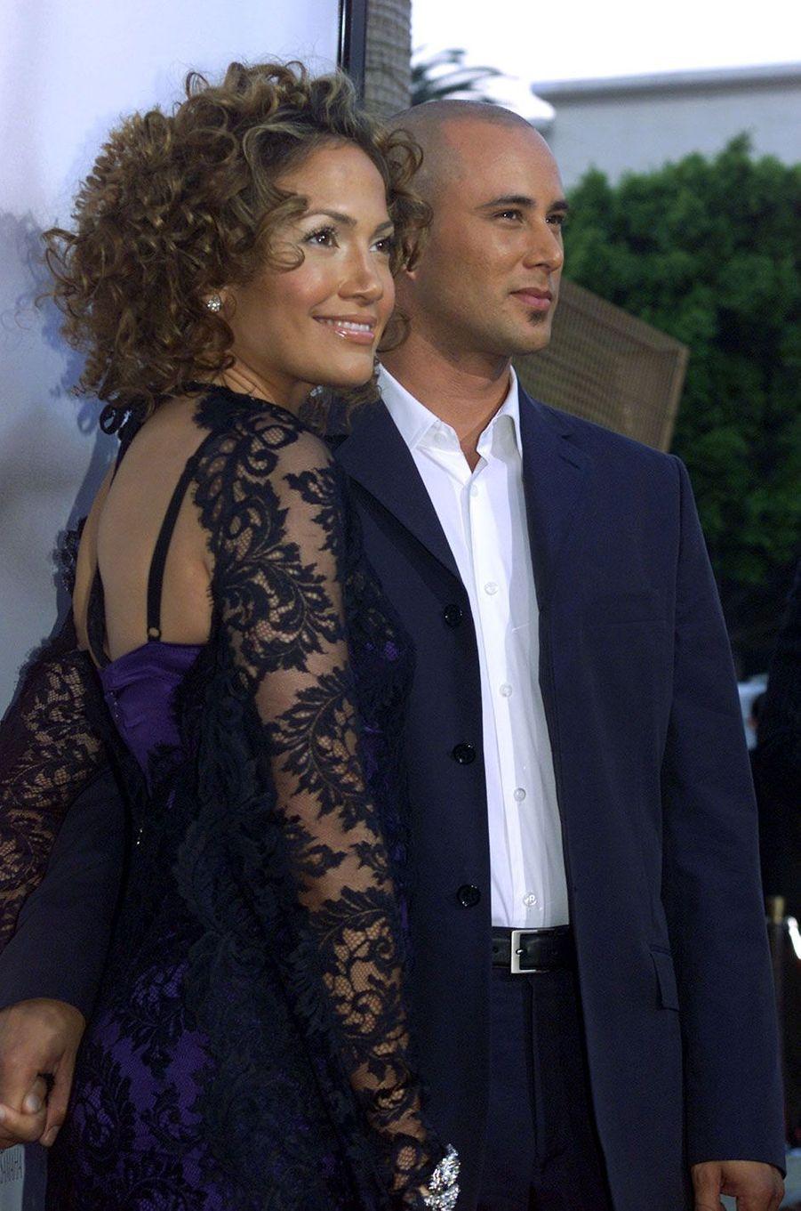 Jennifer Lopez et Cris Judd (2001)