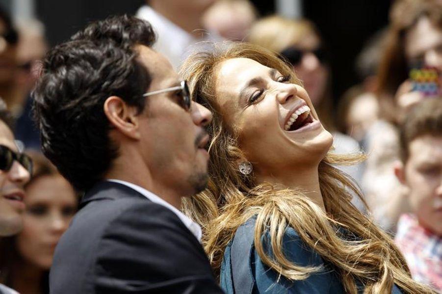Jennifer Lopez et Marc Anthony (2011)