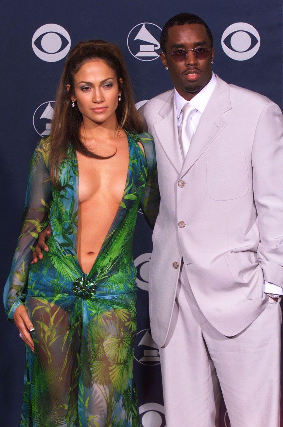 Jennifer Lopez et Sean Combs - alias Puff Daddy (1999)