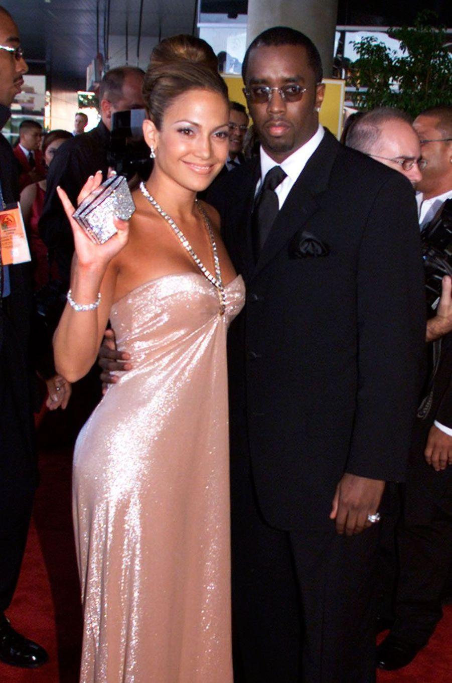 Jennifer Lopez et Sean Combs - alias Puff Daddy (2000)