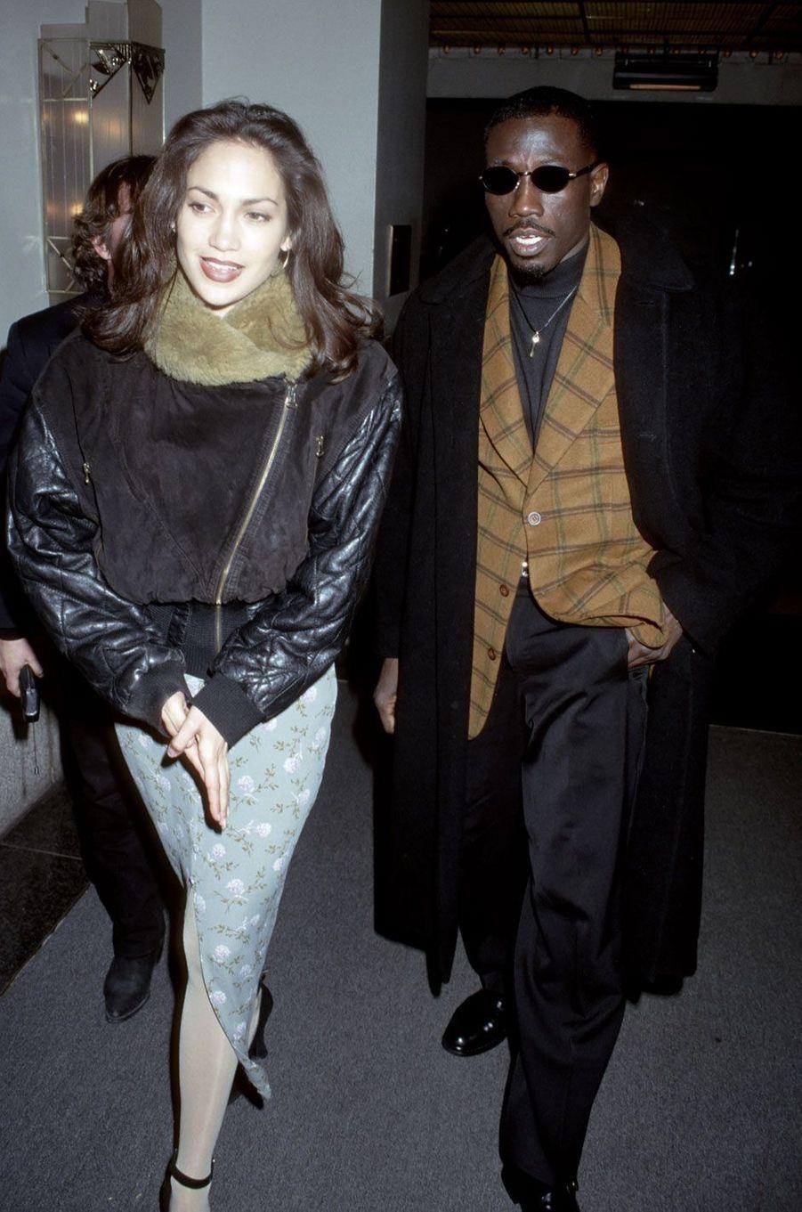 Jennifer Lopez et Wesley Snipes (1995)