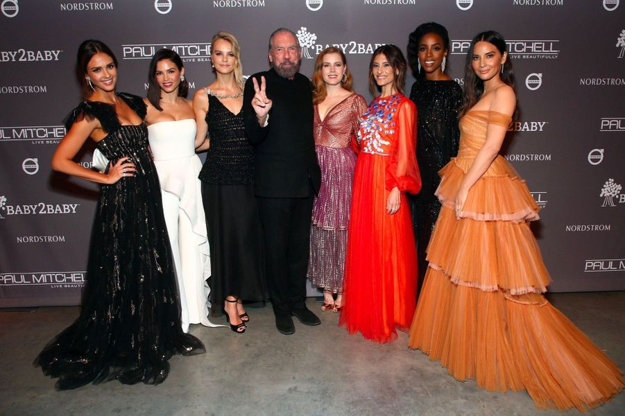 Jessica Alba, Jenna Dewan, Kelly Sawyer Patricof, John Paul DeJoria, Amy Adams, Norah Weinstein, Kelly Rowland and Olivia Munn
