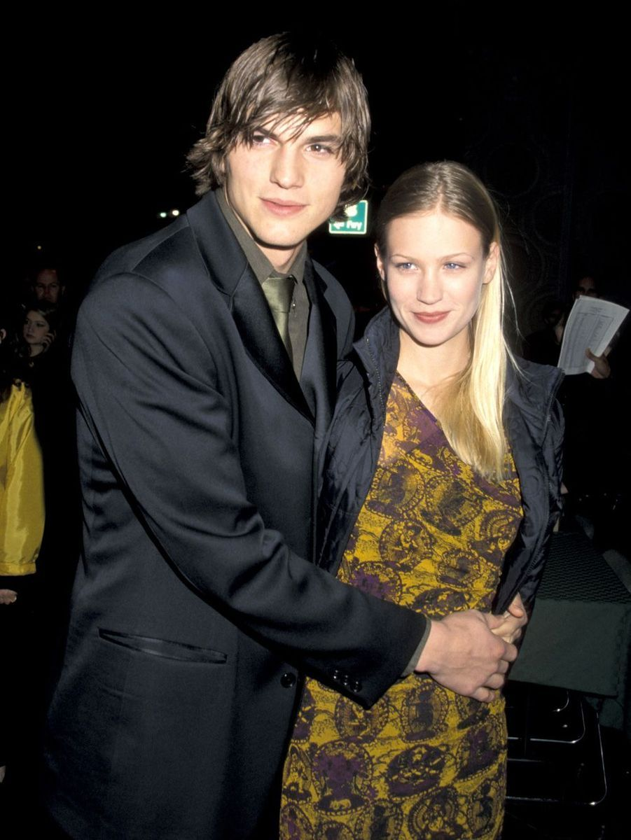 Ashton Kutcher et January Jones