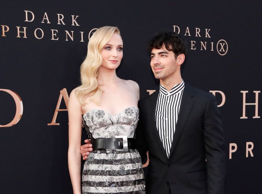 Sophie Turner et Joe Jonas à Los Angeles, le 4 juin 2019