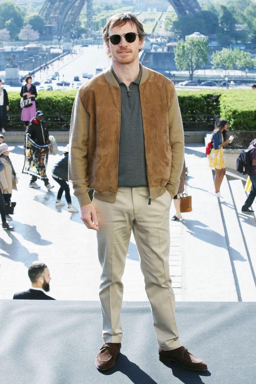 Michael Fassbenderà Paris le 26 avril 2019