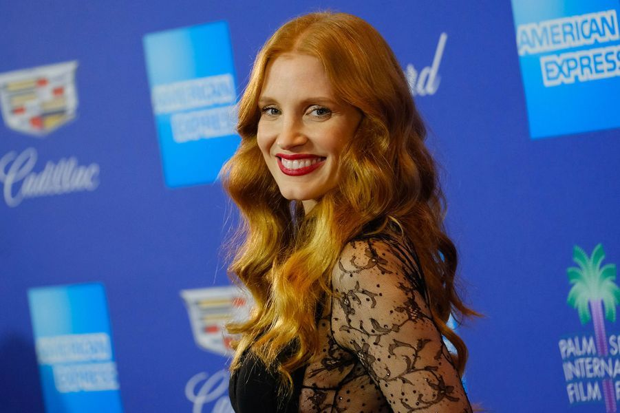 Jessica Chastain au Festival International du film de Palm Springs, mardi 2 janvier