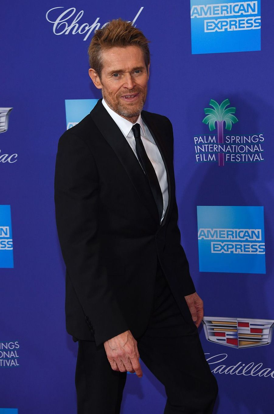 Willem Dafoe au Festival International du film de Palm Springs, mardi 2 janvier