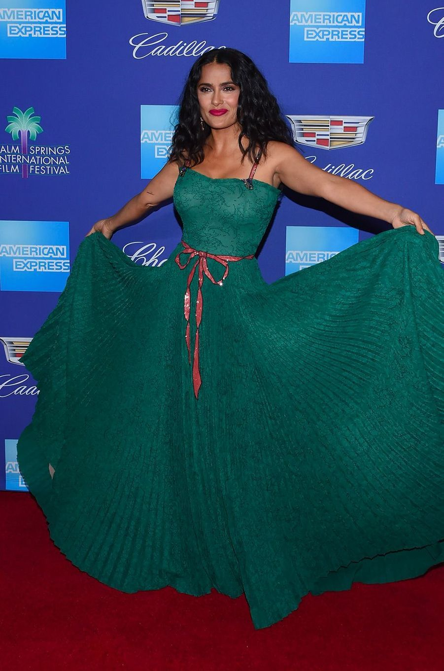 Salma Hayek au Festival International du film de Palm Springs, mardi 2 janvier
