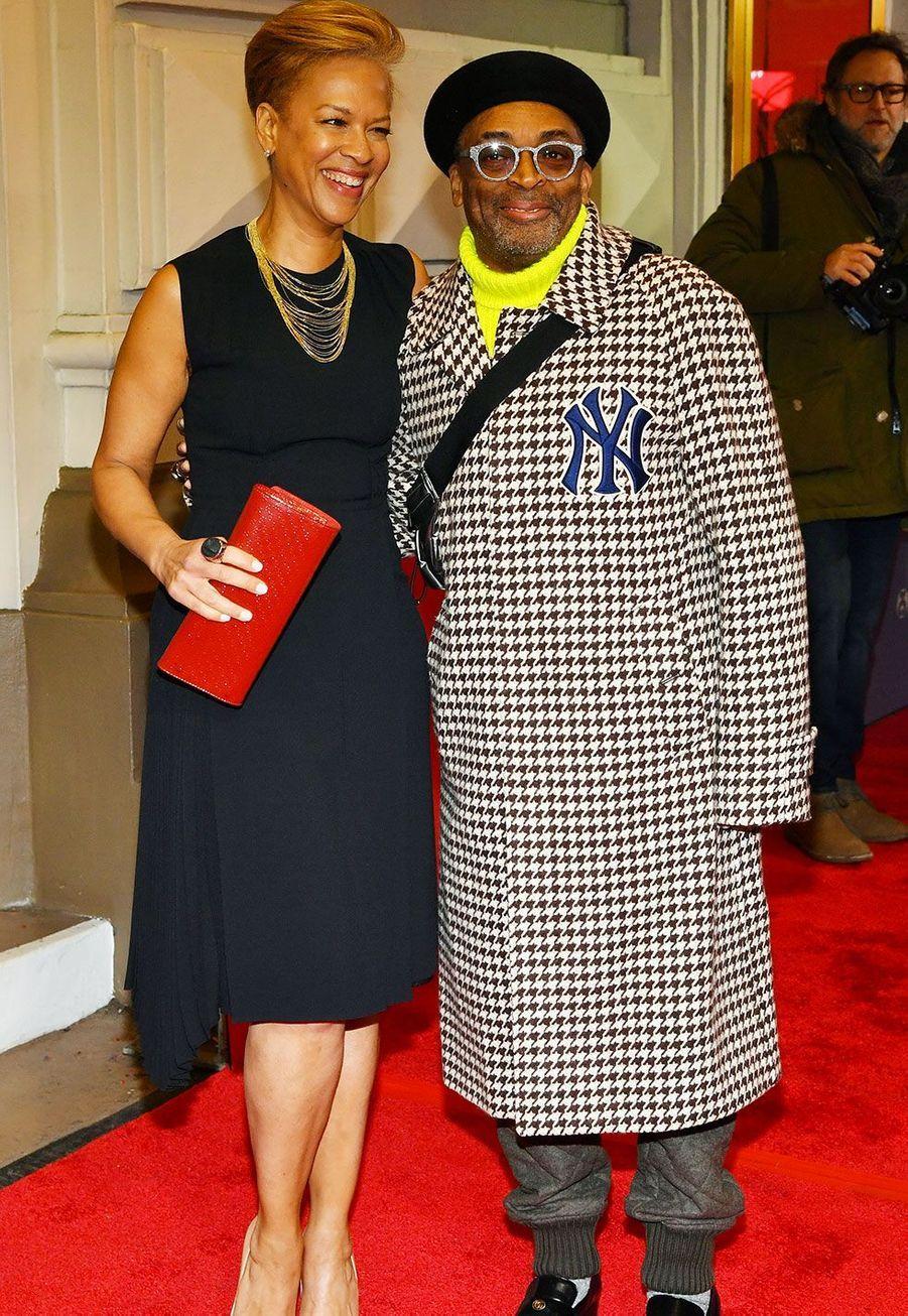 Tonya Lewis et Spike Lee