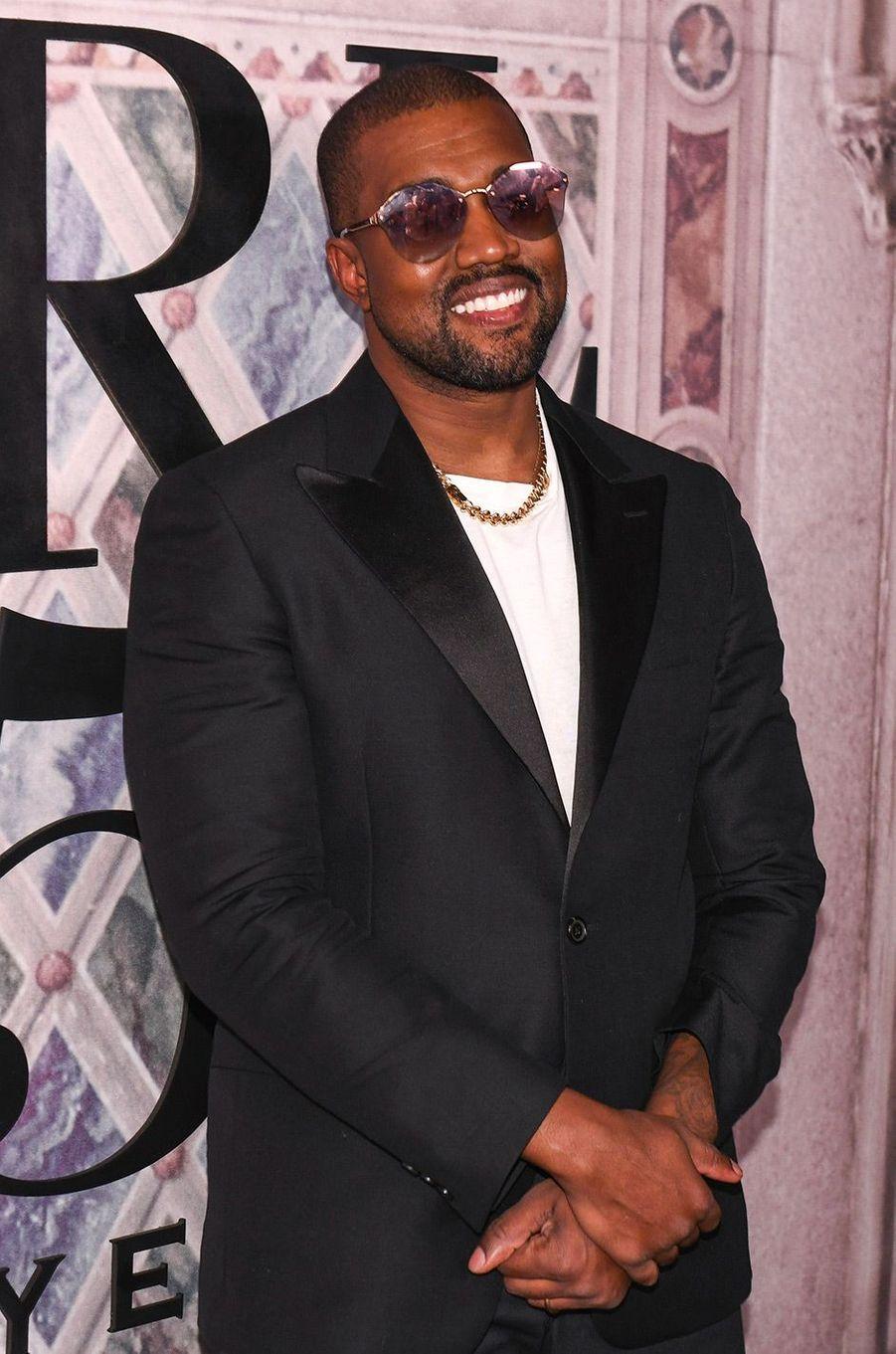 Kanye West à la soirée des 50 ans de Ralph Lauren à New York, vendredi 7 septembre