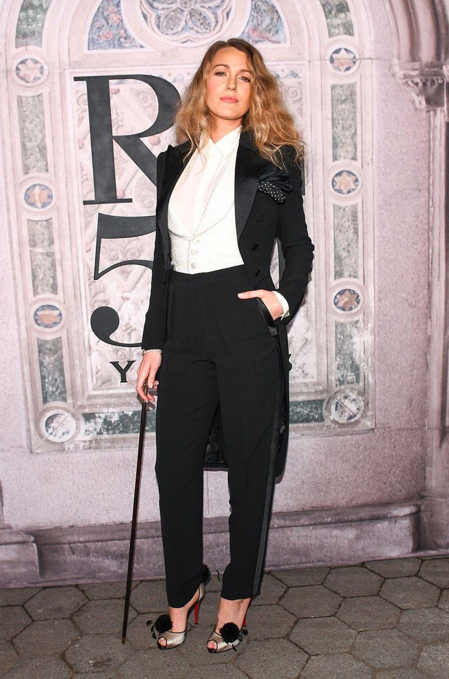 Blake Lively à la soirée des 50 ans de Ralph Lauren à New York, vendredi 7 septembre