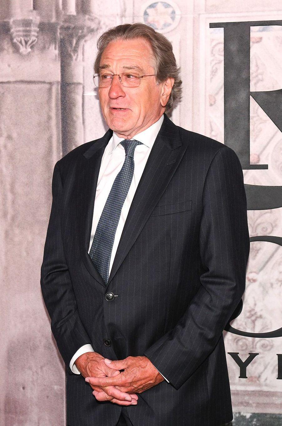 Robert de Niro à la soirée des 50 ans de Ralph Lauren à New York, vendredi 7 septembre