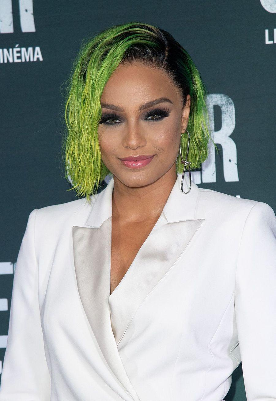 Alicia Ayliesà la première du film «Joker» à l'UGC Normandie à Paris le 23 septembre 2019