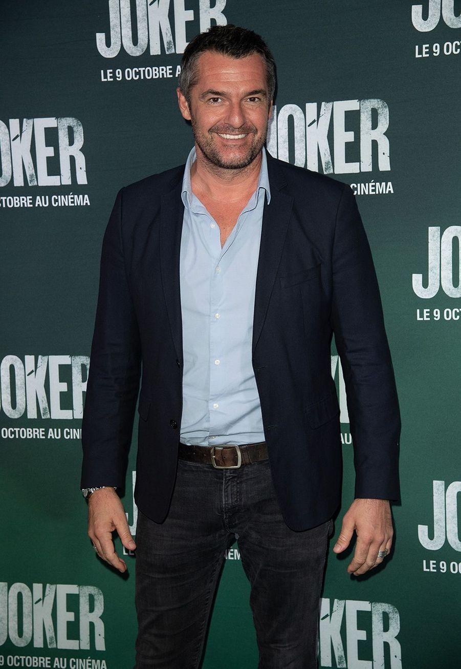 Arnaud Ducretà la première du film «Joker» à l'UGC Normandie à Paris le 23 septembre 2019