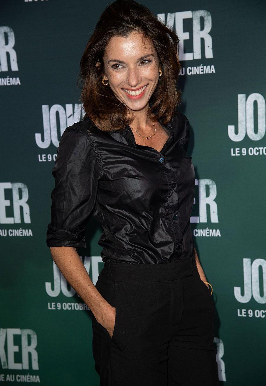 Aure Atikaà la première du film «Joker» à l'UGC Normandie à Paris le 23 septembre 2019
