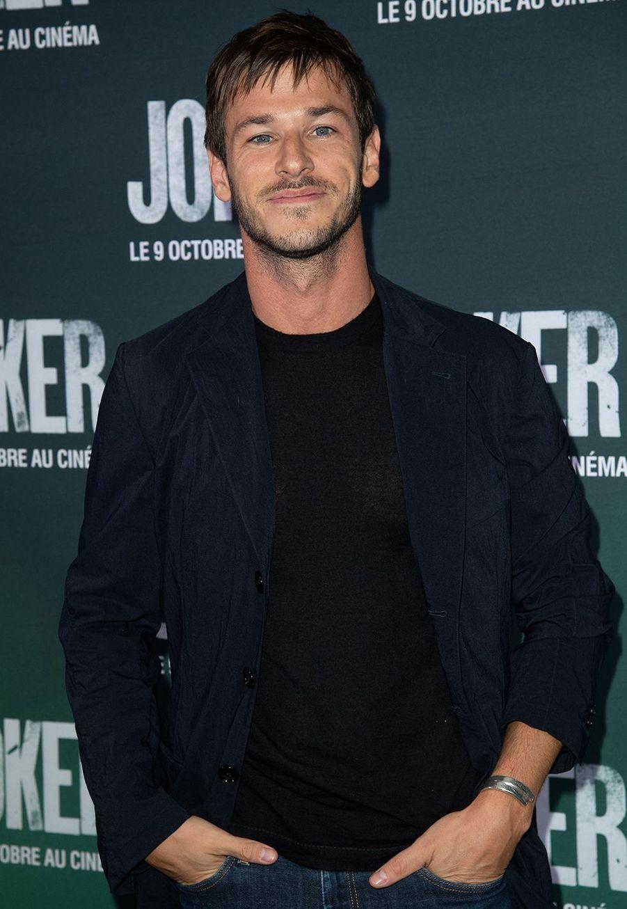 Gaspard Ullielà la première du film «Joker» à l'UGC Normandie à Paris le 23 septembre 2019
