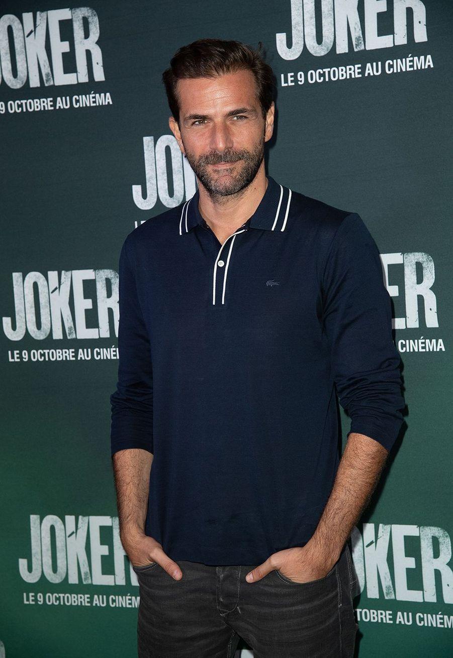 Grégory Fitoussià la première du film «Joker» à l'UGC Normandie à Paris le 23 septembre 2019