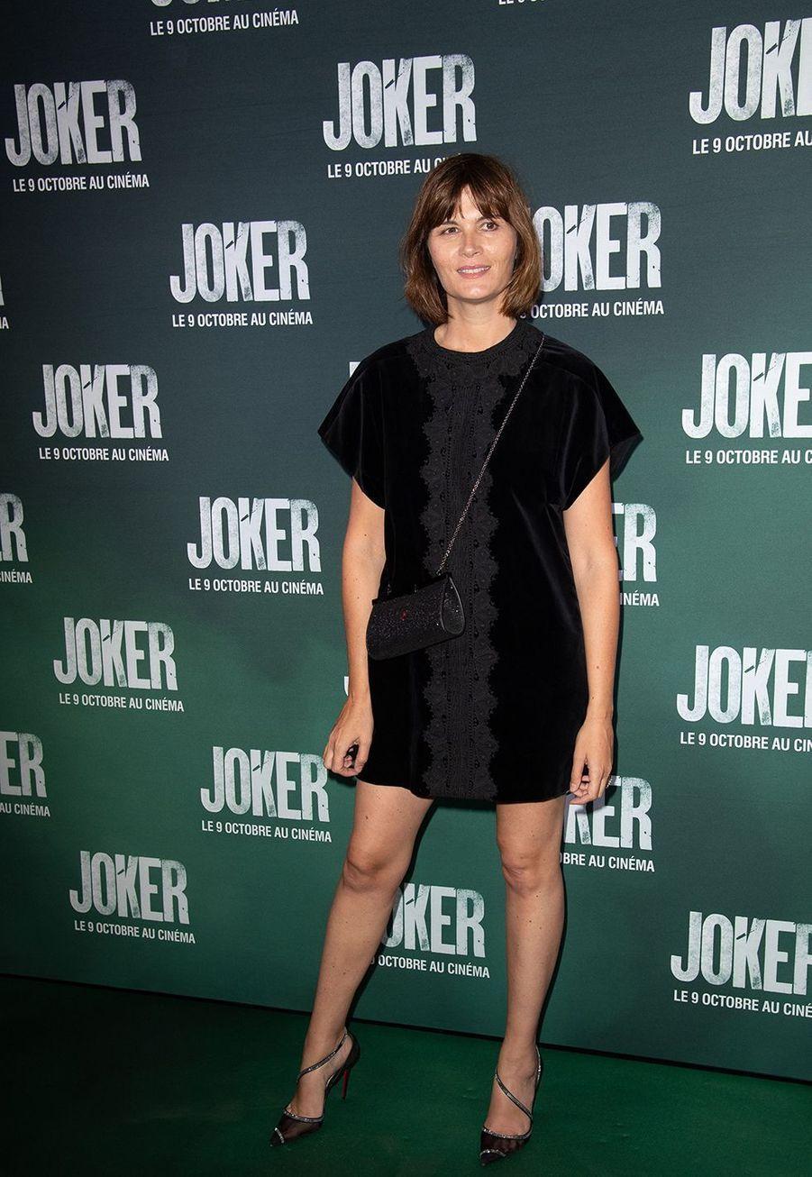 Marina Handsà la première du film «Joker» à l'UGC Normandie à Paris le 23 septembre 2019