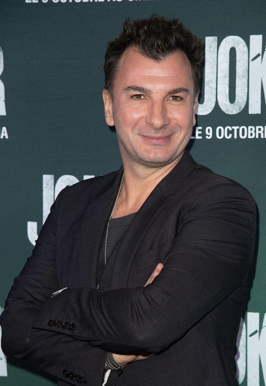 Michaël Younà la première du film «Joker» à l'UGC Normandie à Paris le 23 septembre 2019