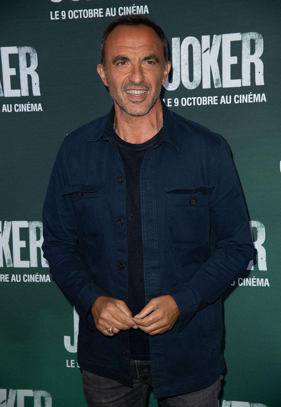Nikos Aliagasà la première du film «Joker» à l'UGC Normandie à Paris le 23 septembre 2019