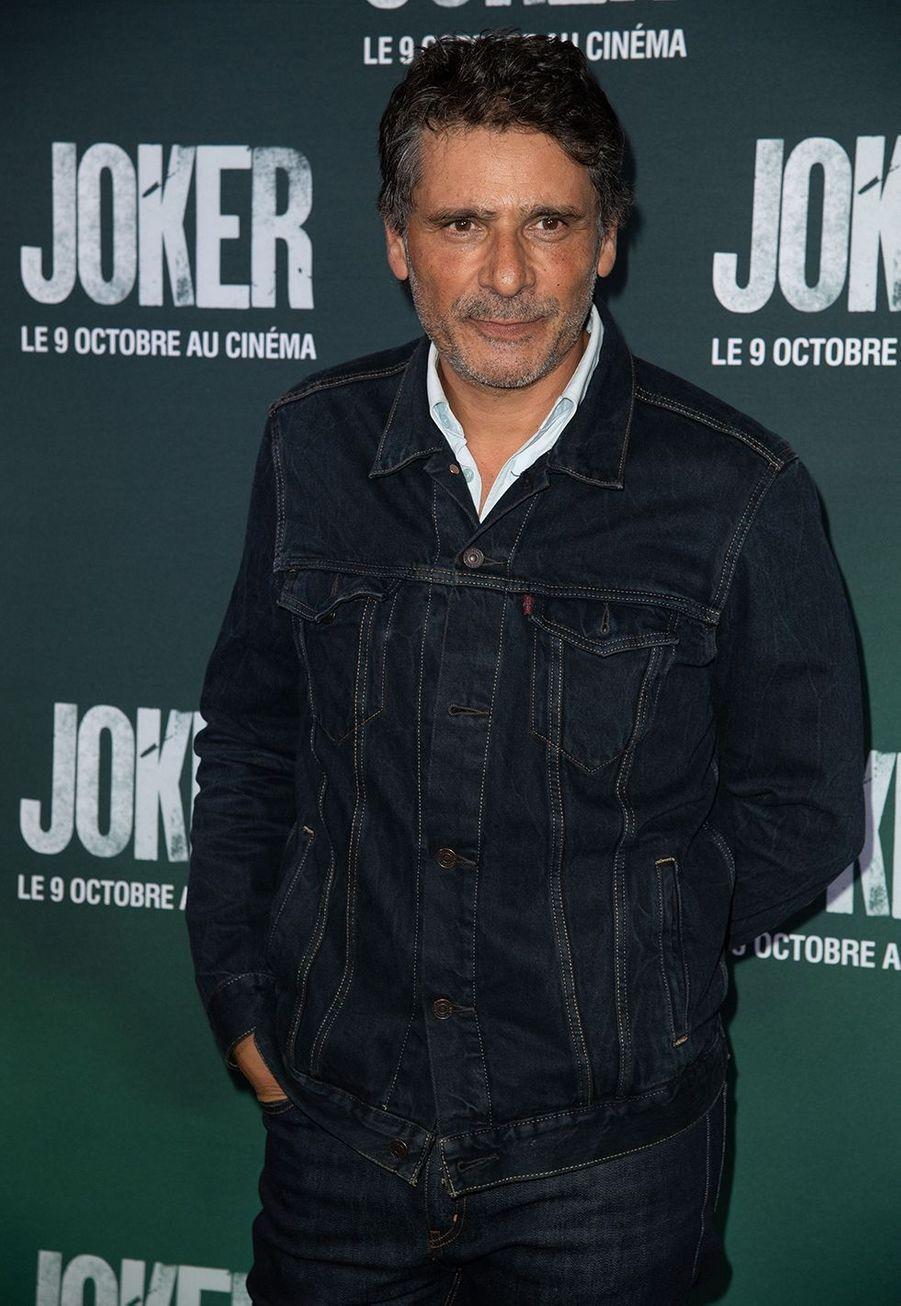 Pascal Elbéà la première du film «Joker» à l'UGC Normandie à Paris le 23 septembre 2019