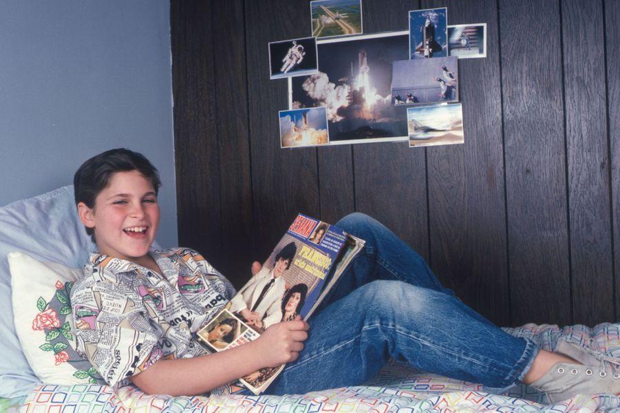 Joaquin Phoenix dans sa chambre en 1985
