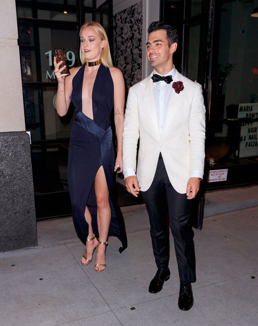 Joe Jonas et Sophie Turner à New York le 16 août 2019