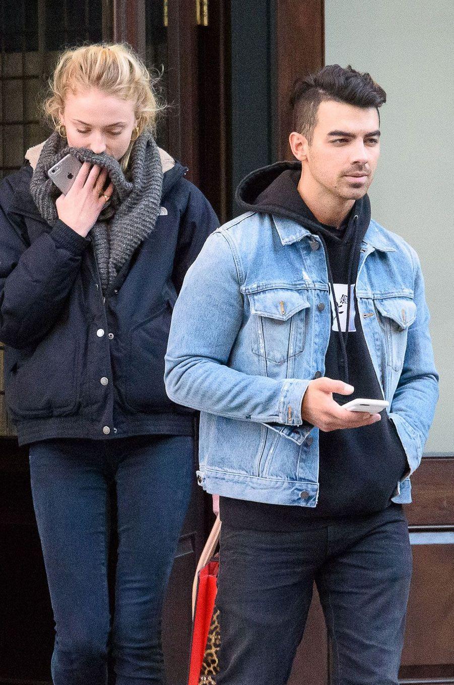 Sophie Turner et Joe Jonas se sont montrés pour la première fois début novembre