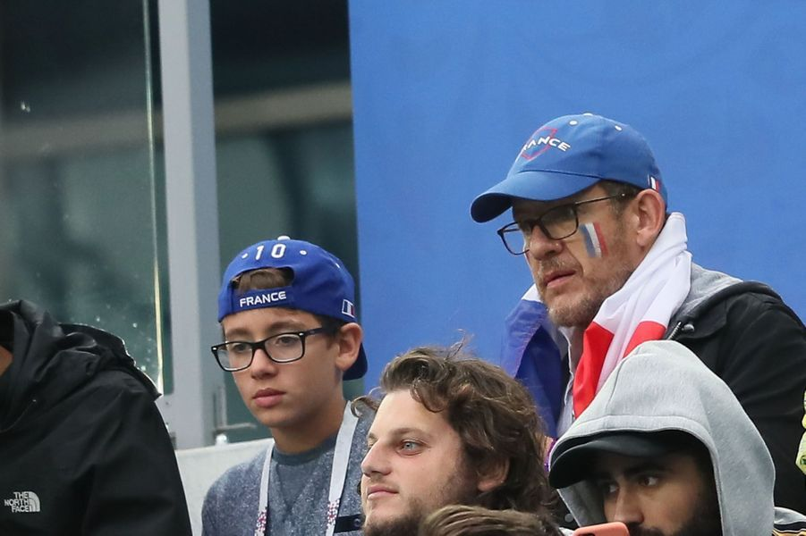 Dany Boon et son fils