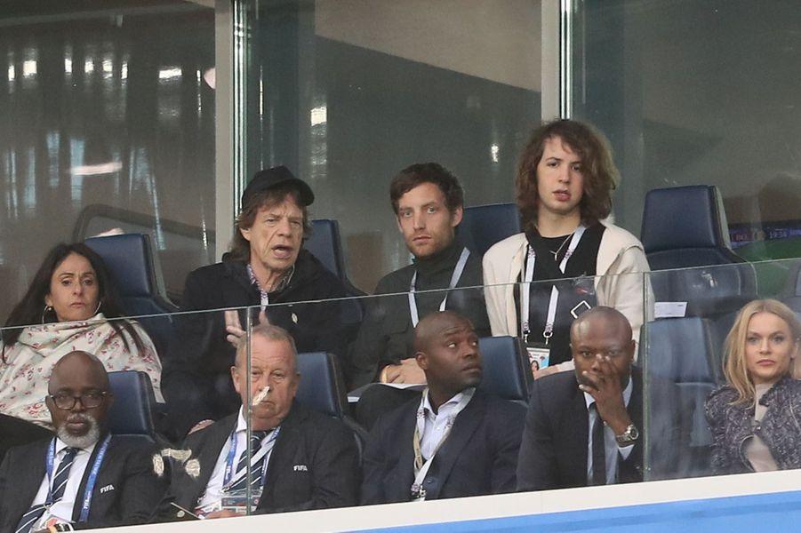 Mick Jagger et son fils
