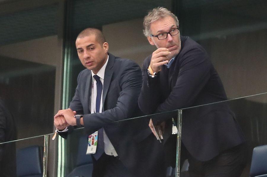 David Trezeguet et Laurent Blanc