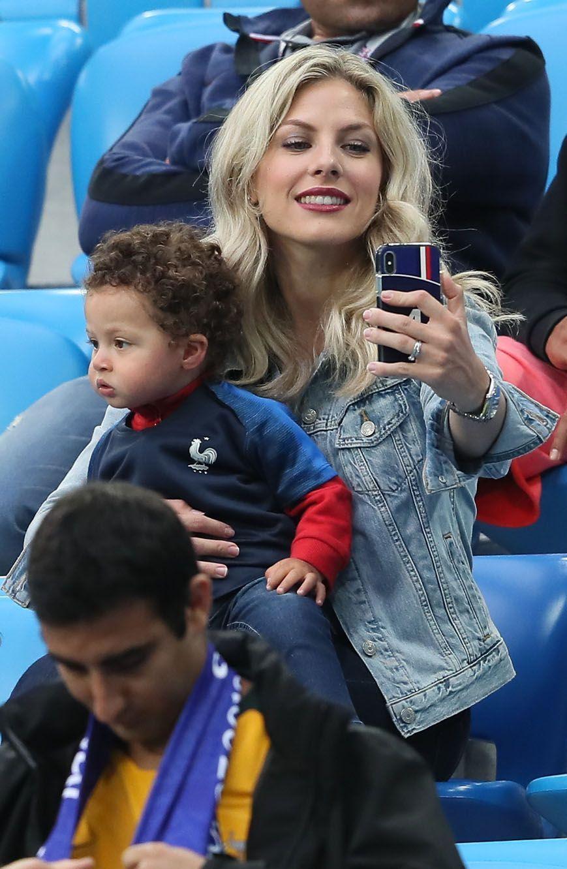 La femme de Raphaël Varane, Camille Tytgat et son fils Ruben