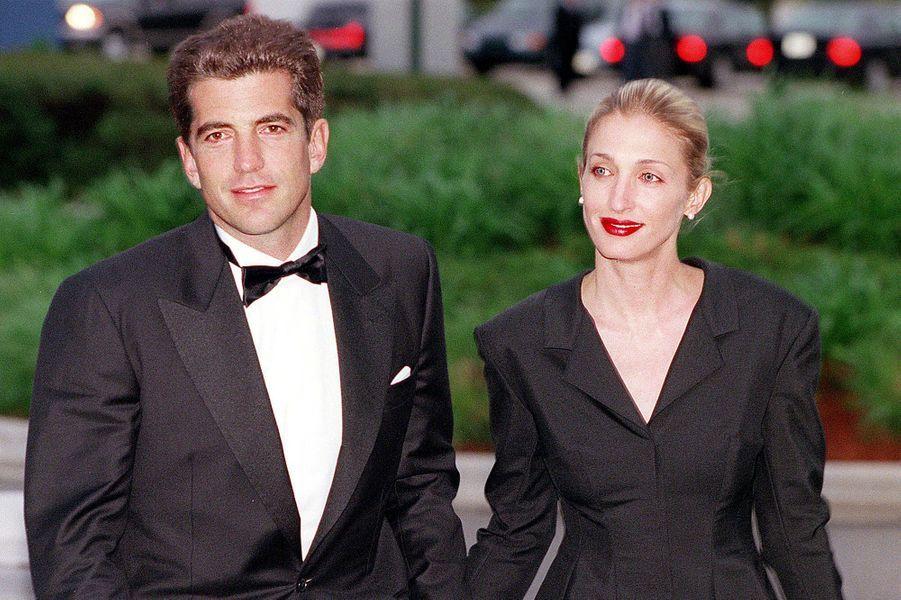 John John et Carolyn, le 23 mai 1999.