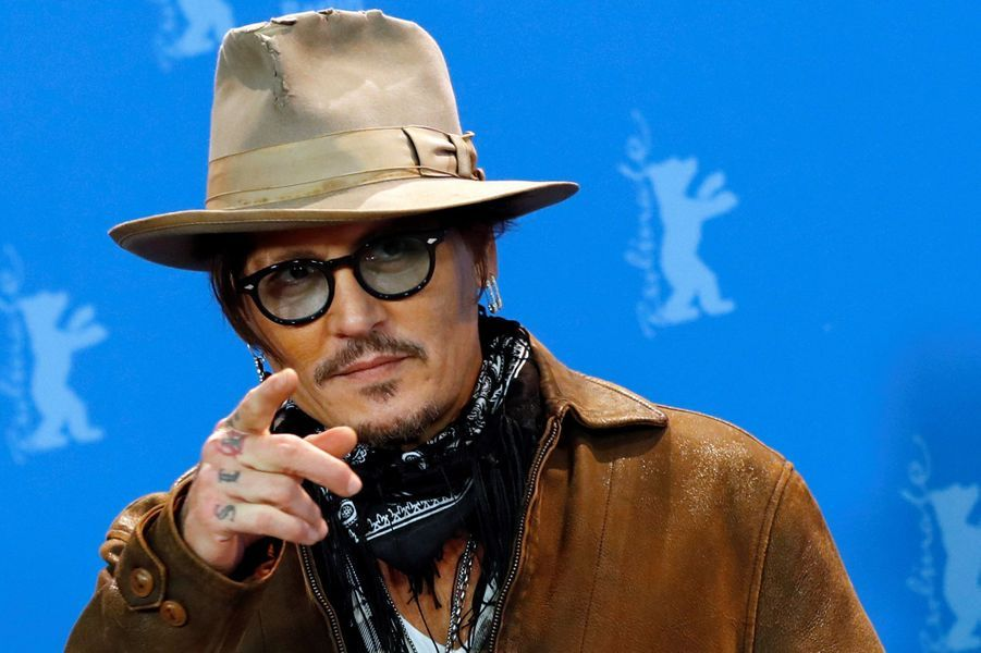 Johnny Depp au Festival de Berlin 2020